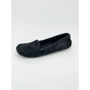Witchery Faux Fur Driving Loafer Moccasin Flat